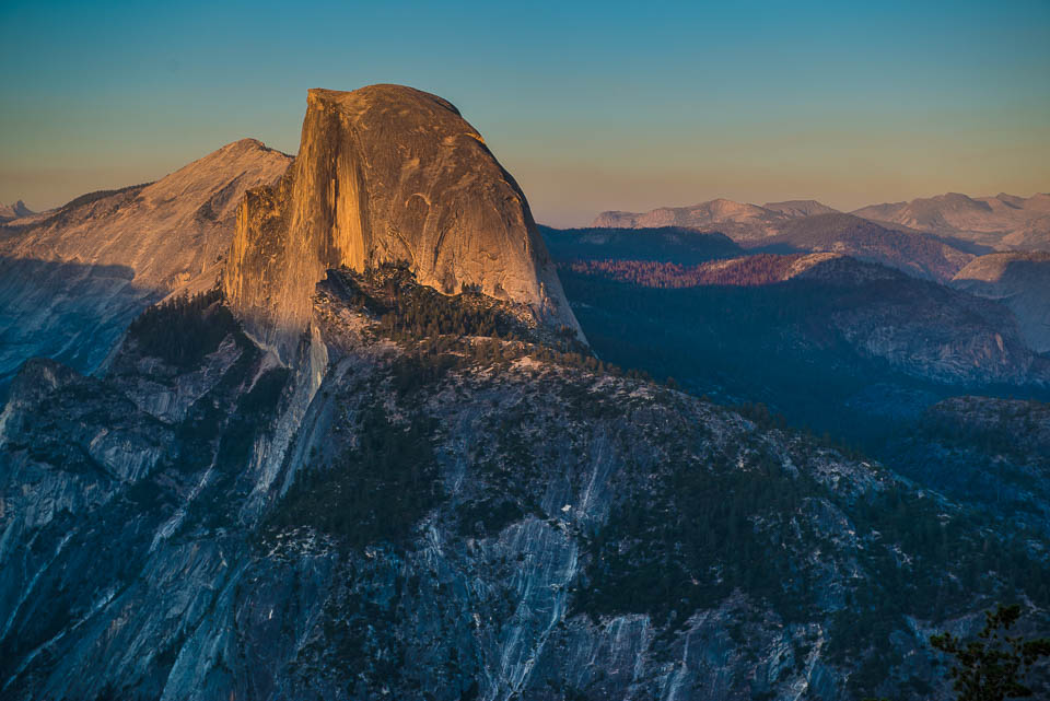 half dome yosemite close 2