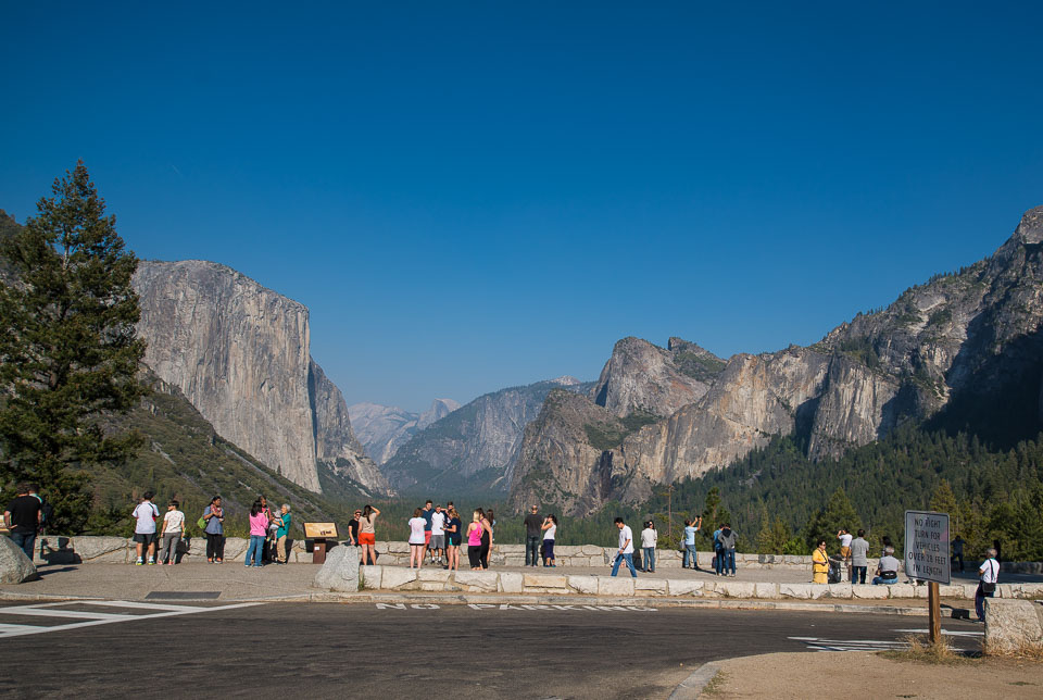 selfie view tunnel view