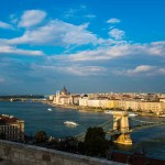 The Danube River, Budapest, Hungary