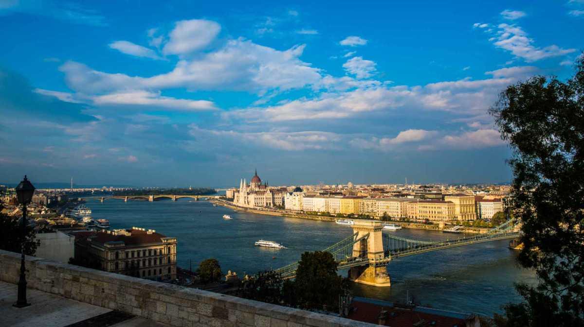 Danube Budapest parliament