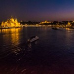 Night View of the Danube, Budapest, Hungary