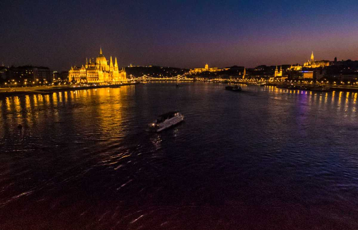 boat on the Danube Budapest