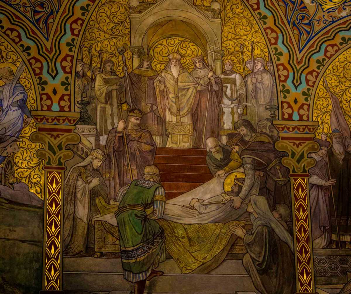 mattias church altar painting