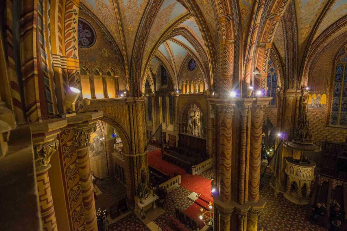mattias church view across transept