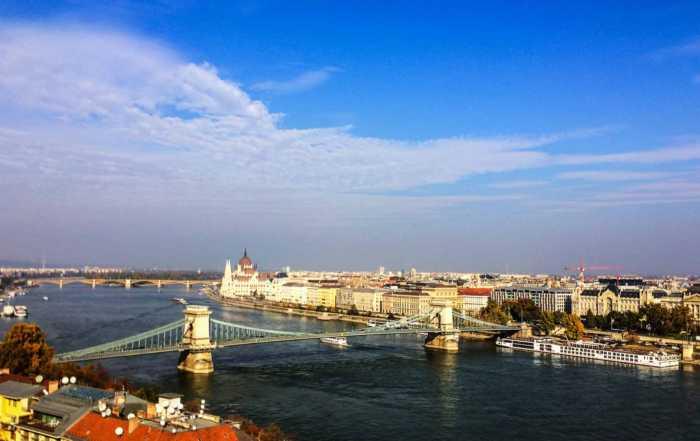 Viking Lif Budapest Chain Bridge