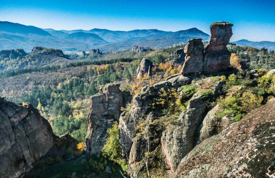 Bedrock in Belogradchik, Bulgaria