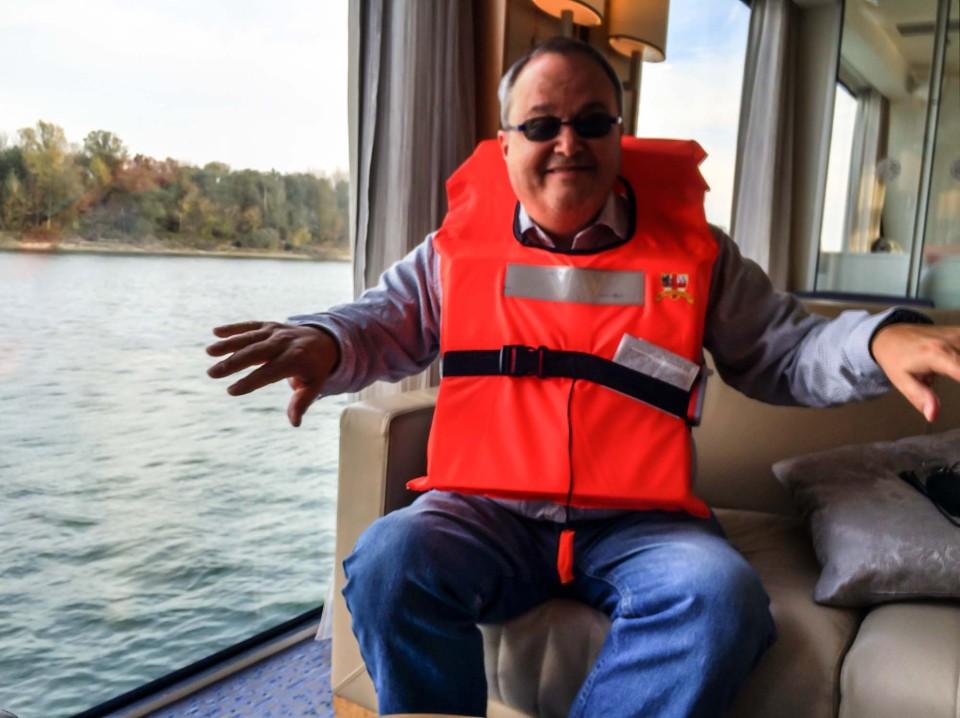 Aboard Viking Lif, Danube River Cruise