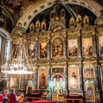 Iconostasis, Saborna Church, Belgrade, Serbia