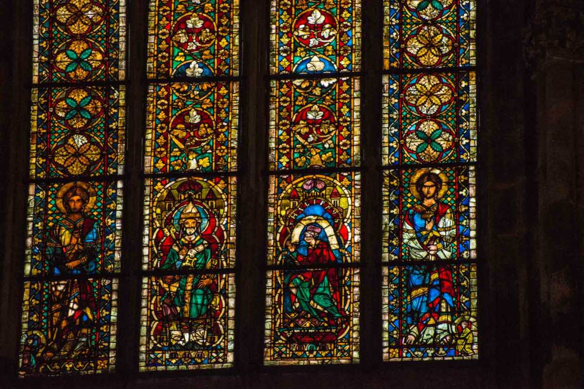 altar windows regensburg cathedral 1