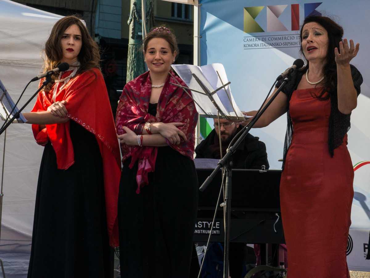 opera singers Belgrade
