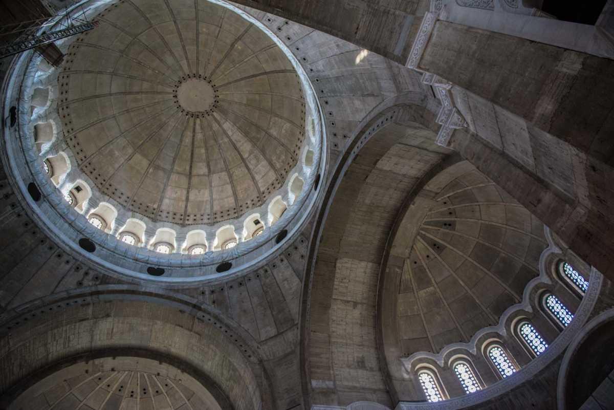 roof saint sava church Belgrade