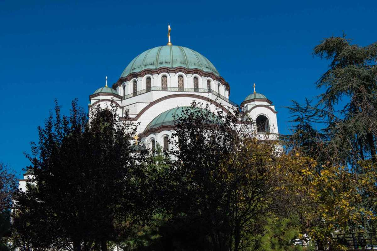 saint sava church Belgrade