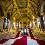 Grand Stairway, Hungarian Parliament, Budapest