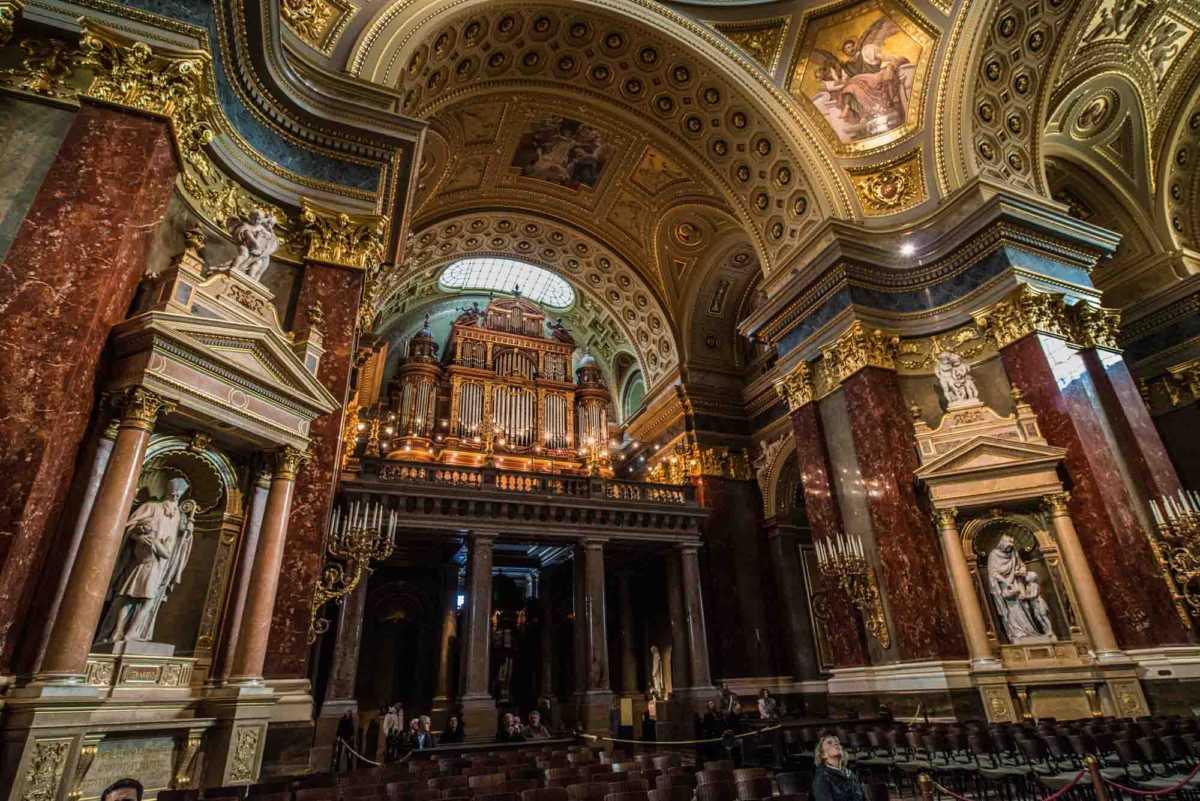 organ saint stephen budapest