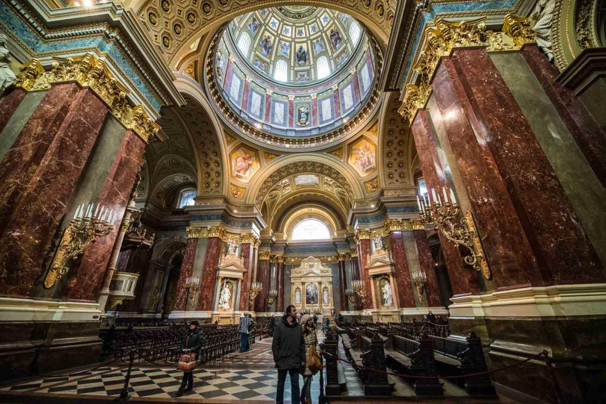 transept saint stephen budapest