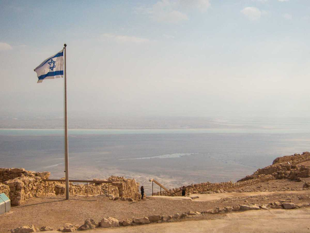 Masada, a stop on our day with Green Olive Tours