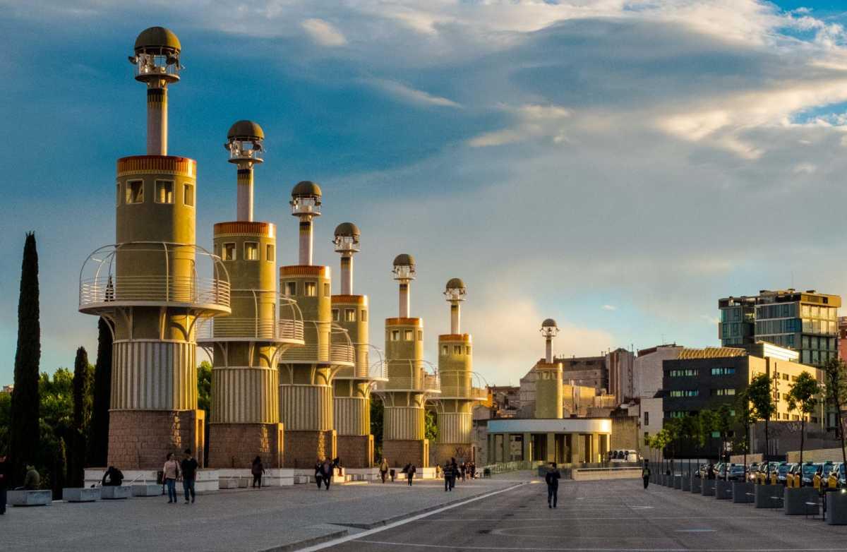 barcelona towers