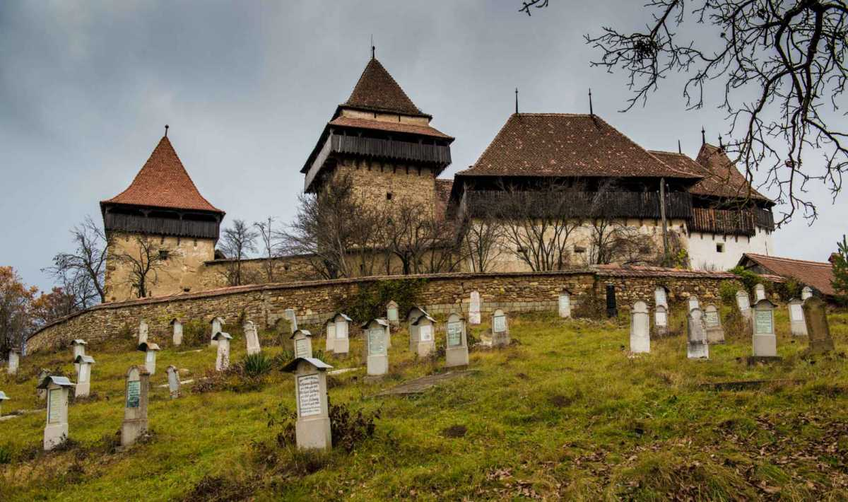 fortified churches transylvania romania viscri
