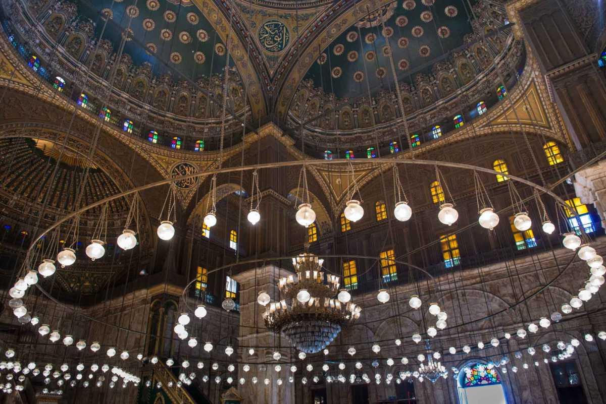 mosque muhammad ali cairo egypt