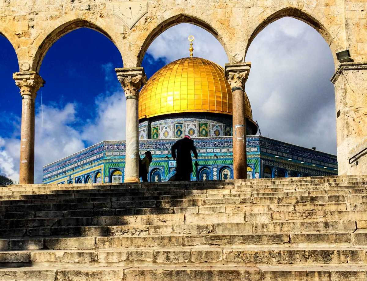 old man dome of rock jerusalem