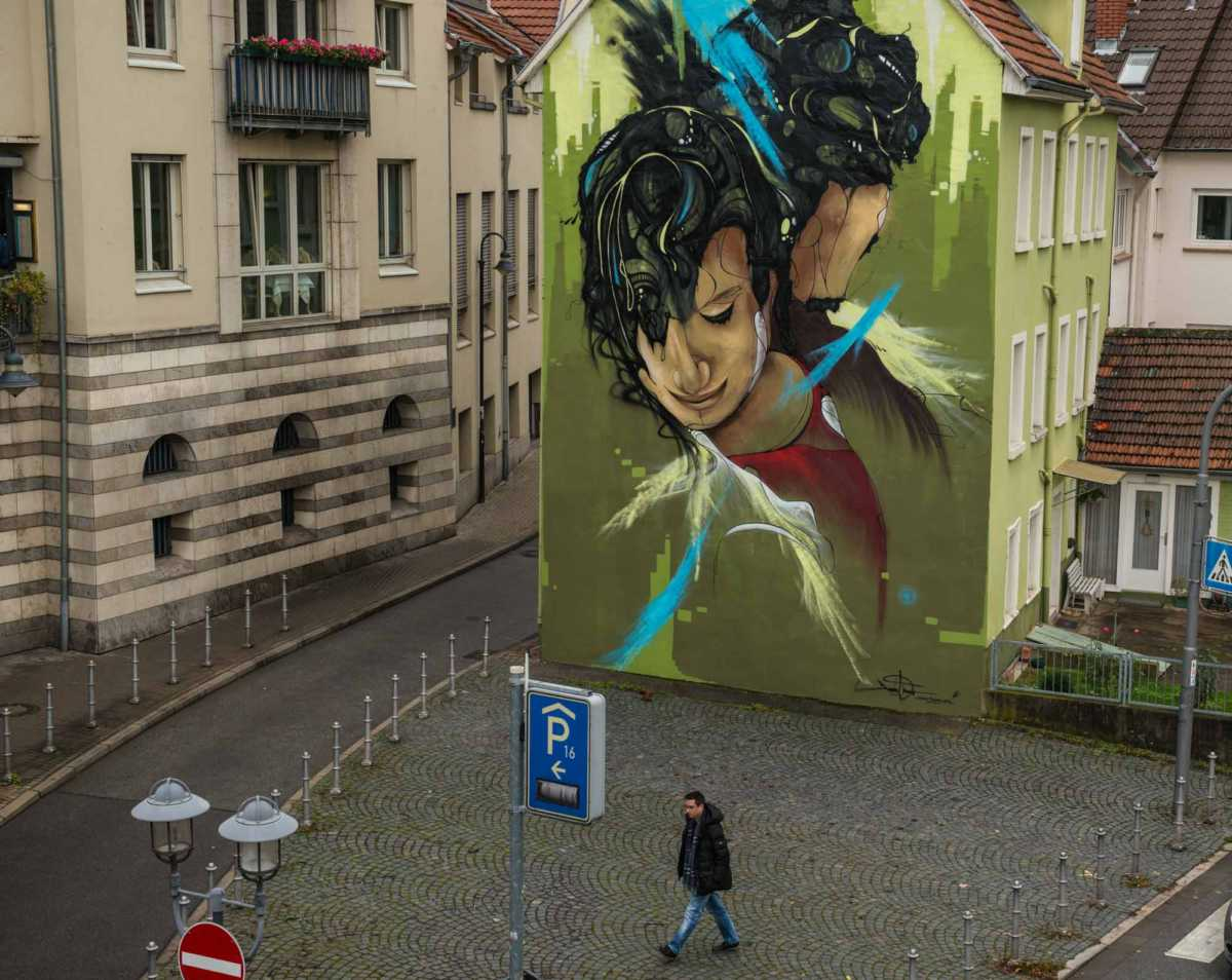 mural heidelberg germany