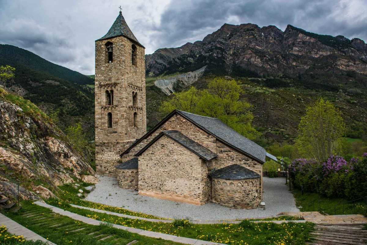 pyrenees church lleida spain