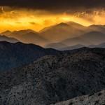 Desert Sunset, Keys View, Joshua Tree National Park