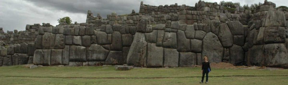 In Peru, before blogging, marveling at Saqsaywaman, and my ignorance.