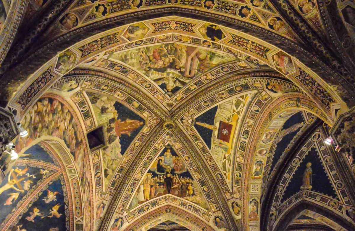 baptistry siena ceiling 2
