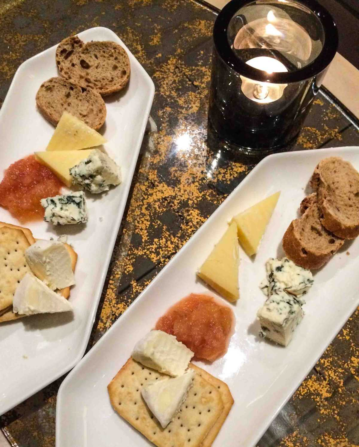cheese tasting on board Viking Rhone river Cruise' Portraits of Southern France.