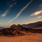 Streaky Clouds at Dawn, Wadi Rum, Jordan