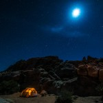 Camping, Joshua Tree National Park, California