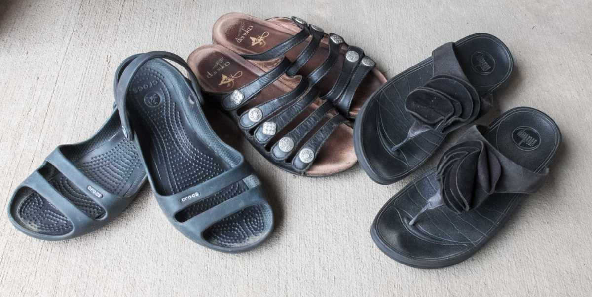 Essential shoes for travel