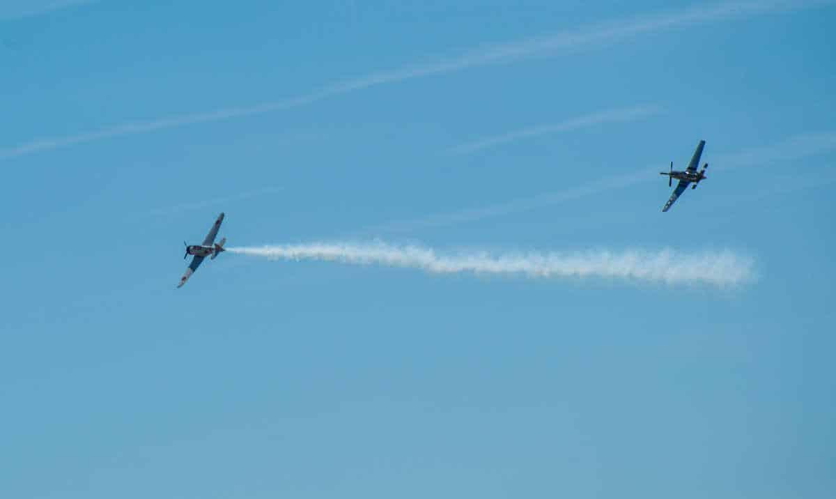 lincoln air show zero P51