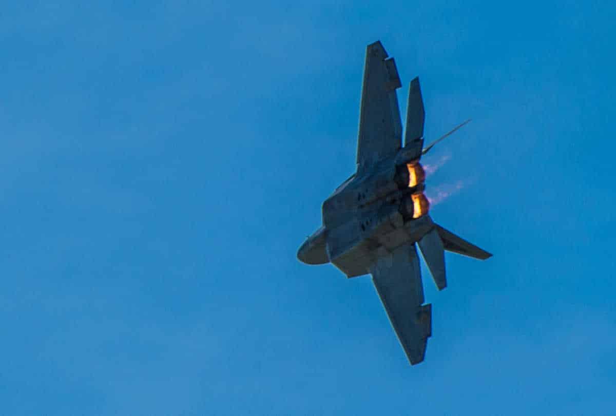 lincoln air show f22