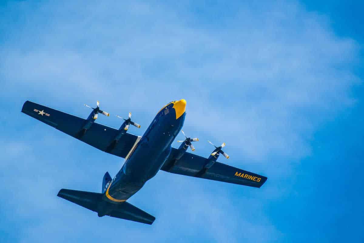 lincoln air show blue angels c130
