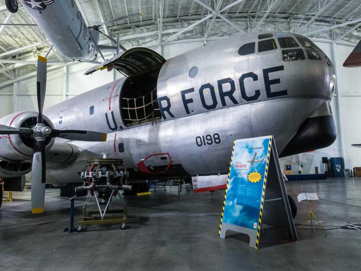 USA sac museum KC-97