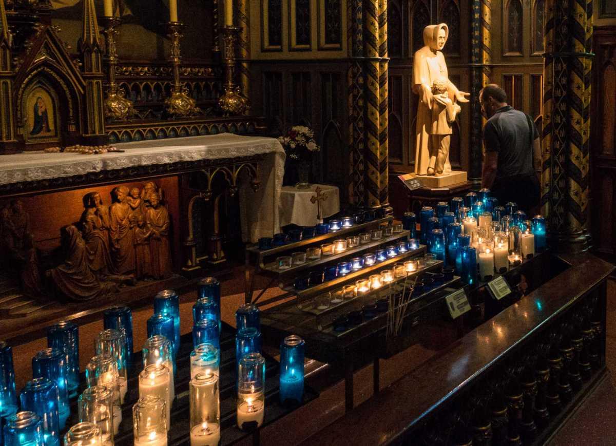notre dame candles saint montreal