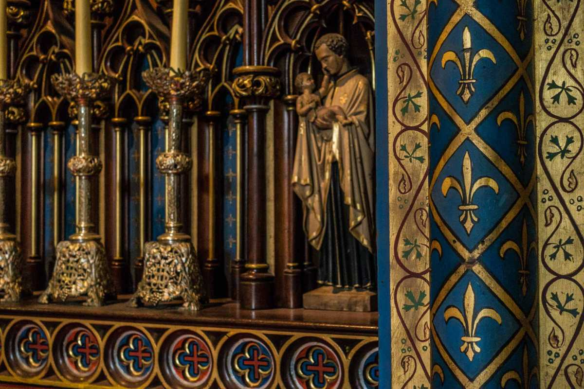 notre dame montreal chapel decoration