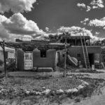Taos Pueblo, New Mexico, Black and White