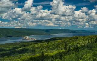 cabot trail cape breton saint ann's harbour 2