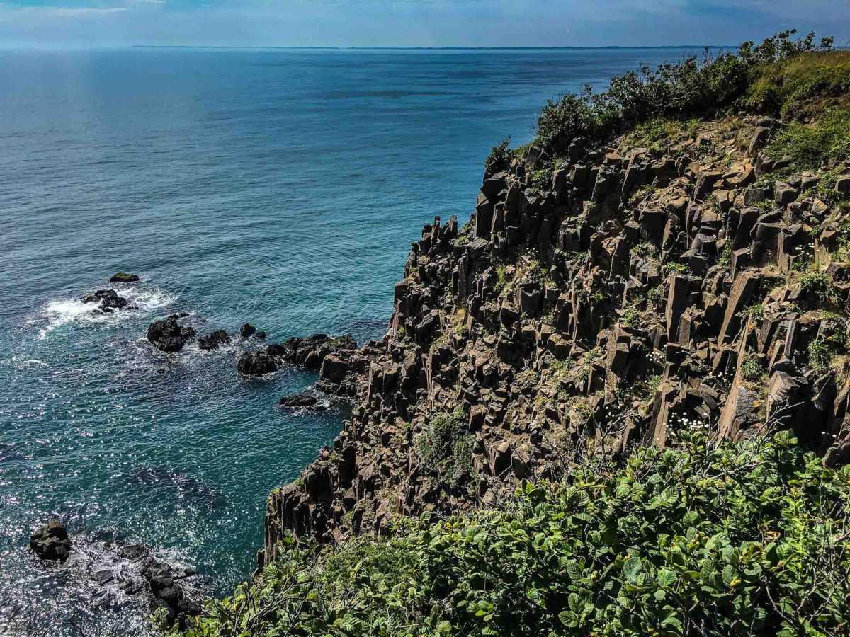 coastal cliffs grand manan