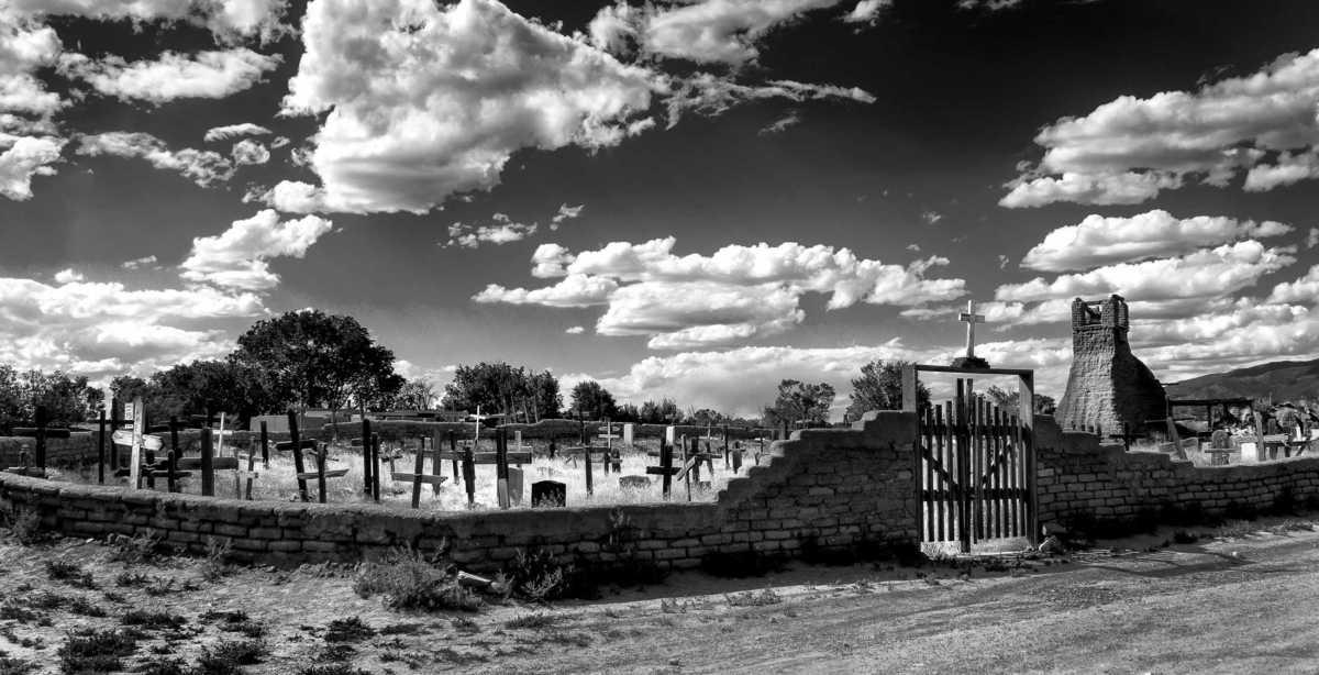 graveyard taos pueblo