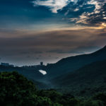 Skyline Views from The Peak, Hong Kong