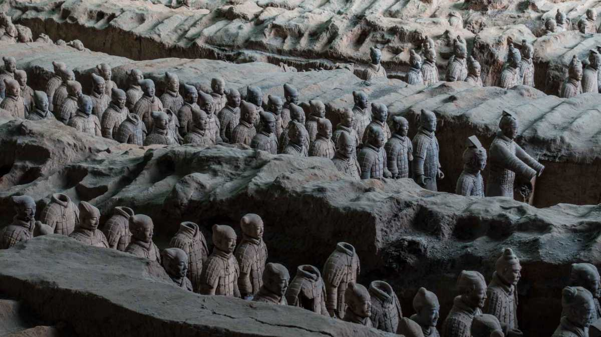 """essay on terracotta army Free essay: who were the terracotta warriors """"the terracotta warriors are  considered an 8th wonder of the world"""" they were created over."""