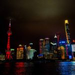 The Night Skyline, Shanghai, China