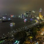 The Bund on a Holiday Night, Shanghai, China
