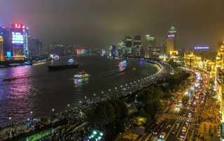 shanghai-the-bund-night china