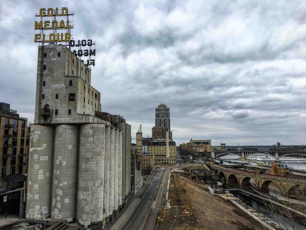 Minneapolis grain elevators