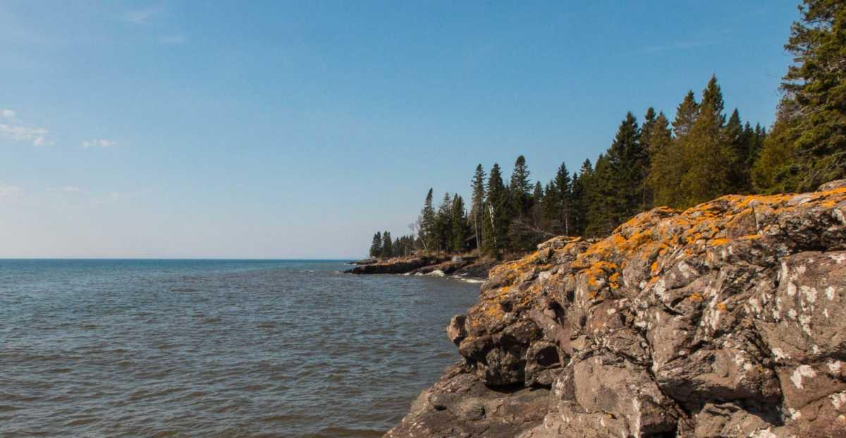 Lake Superior north shore Minnesota